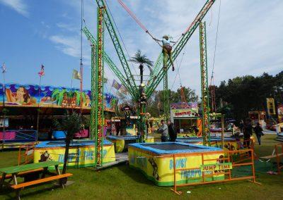 Kermisattractie: Trampoline Attractie Huren