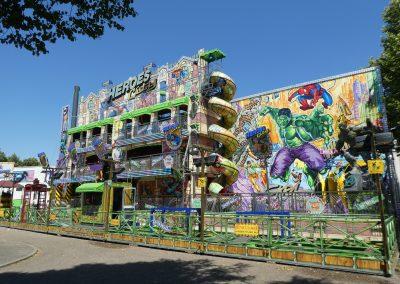 Kermisattractie: Fun House Huren