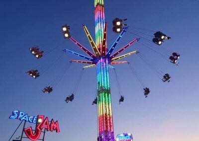 Kermisattractie: Festival Zweefmolen Huren