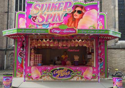 Kermisattractie: Suikerspin & Popcorn Huren