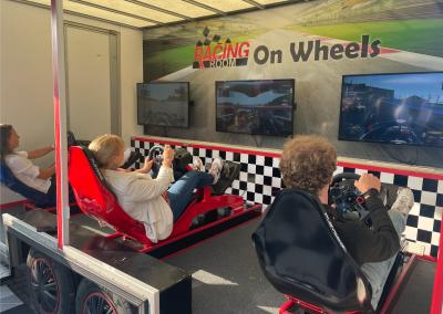 Kermisattractie: Race Simulator Huren